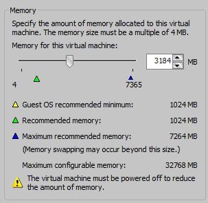 VMWare Memory Allocation