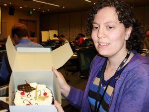 MVP Summit '11 Becky Isserman Birthday Cake